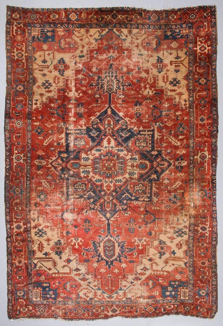 Antique Serapi Rug, Persia: 9'3'' x 13'11''