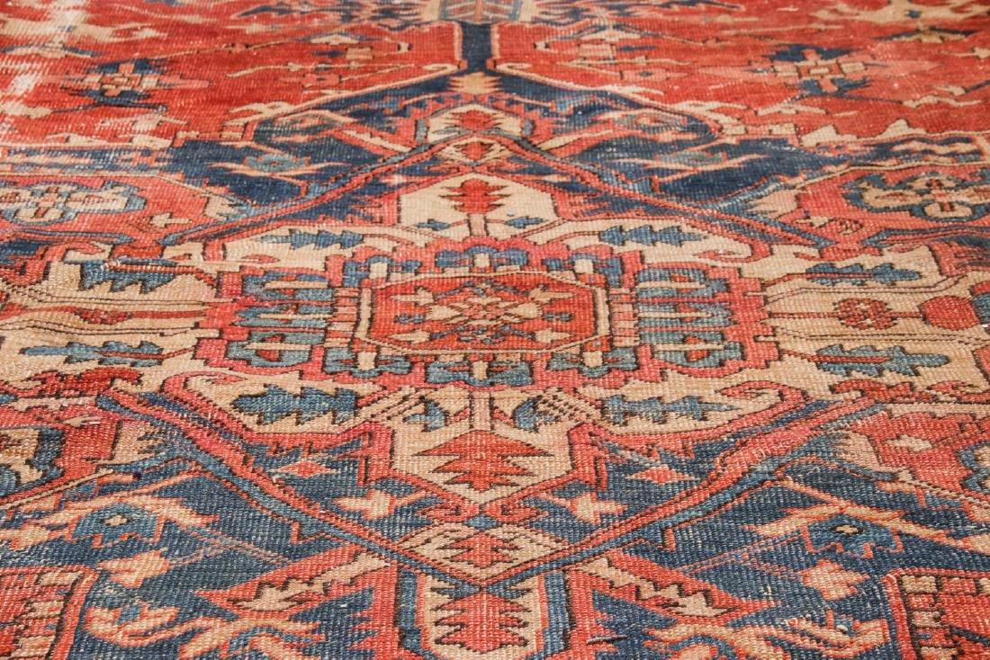 Antique Serapi Rug, Persia: 9'3'' x 13'11'' - 6