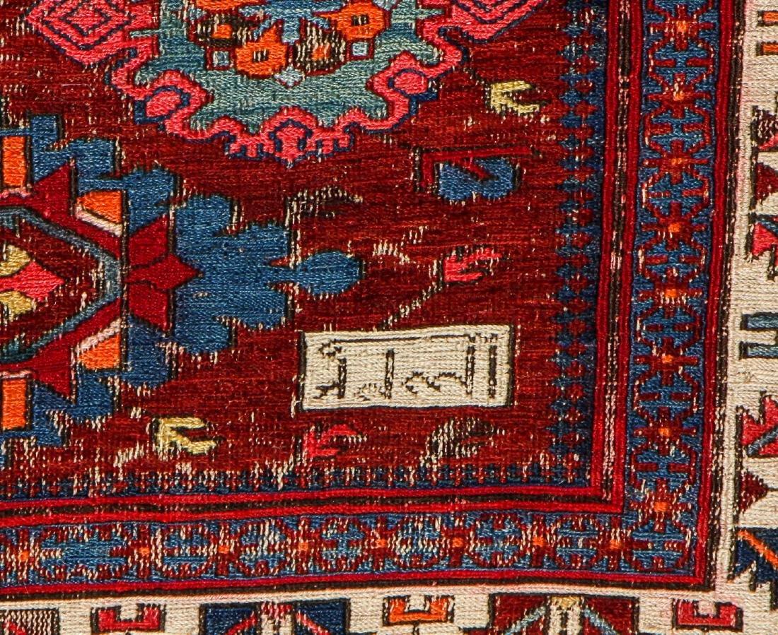 Antique Sumak Rug, Caucasus: 5'3'' x 6'8'' - 5