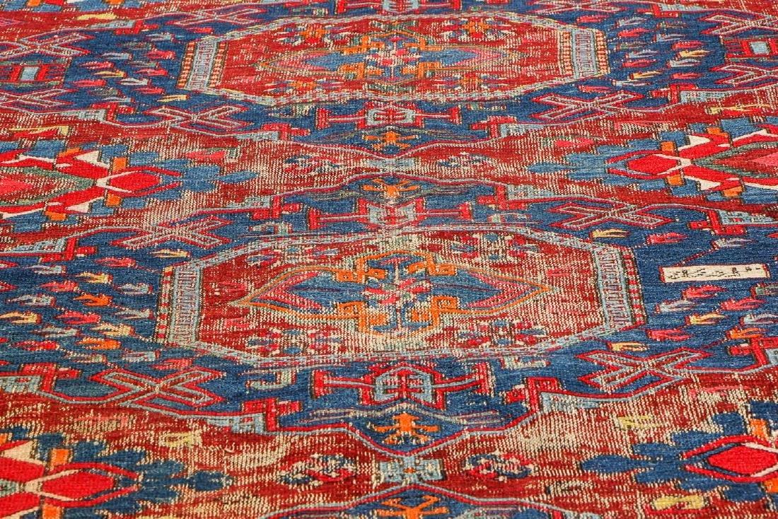 Antique Sumak Rug, Caucasus: 5'3'' x 6'8'' - 8
