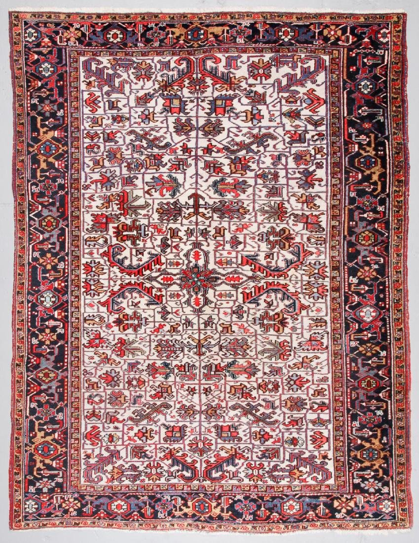 Semi-Antique Heriz Rug, Persia: 8'2'' x 10'6''