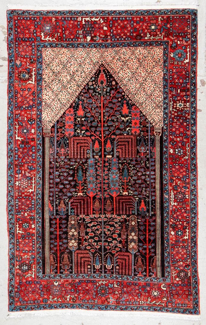 Bakshaish Style Prayer Rug: 4'9'' x 7'10''