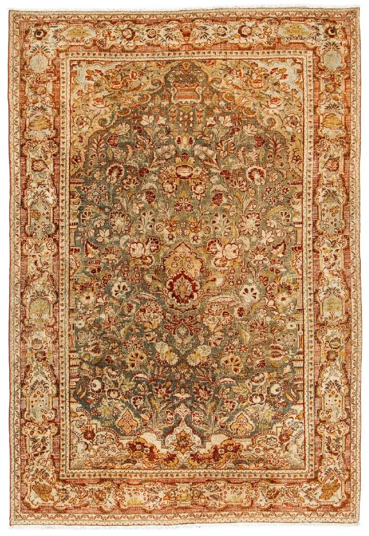 Antique Tabriz Rug, Persia: 4'6'' x 6'7''