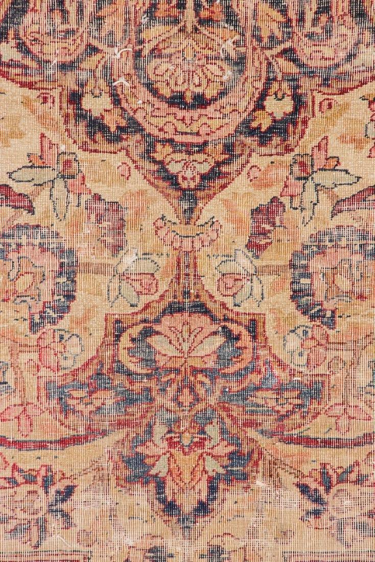 Antique Lavar Kerman Rug, Persia: 7'3'' x 9' - 2