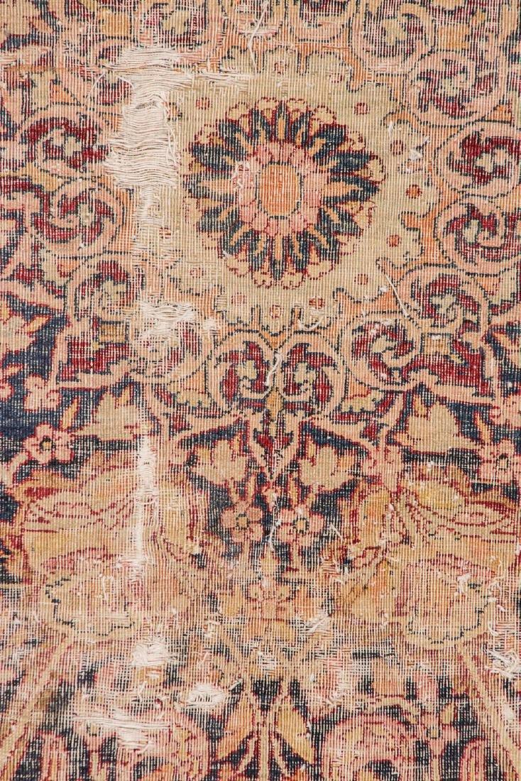 Antique Lavar Kerman Rug, Persia: 7'3'' x 9' - 3