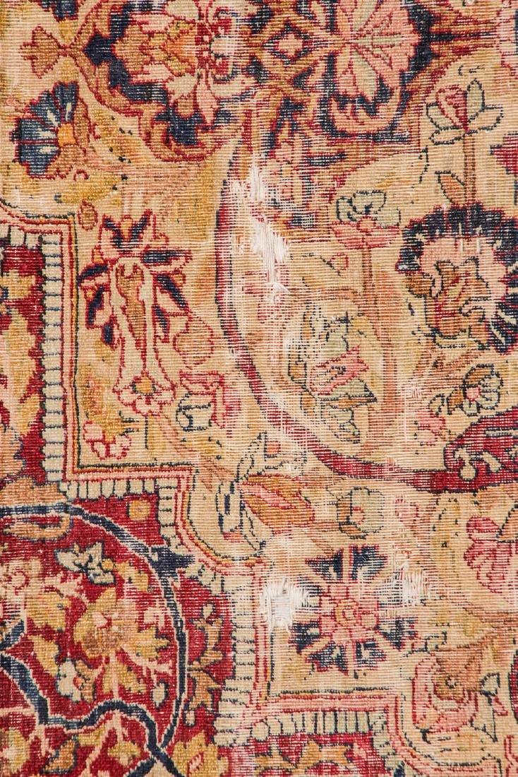 Antique Lavar Kerman Rug, Persia: 7'3'' x 9' - 4