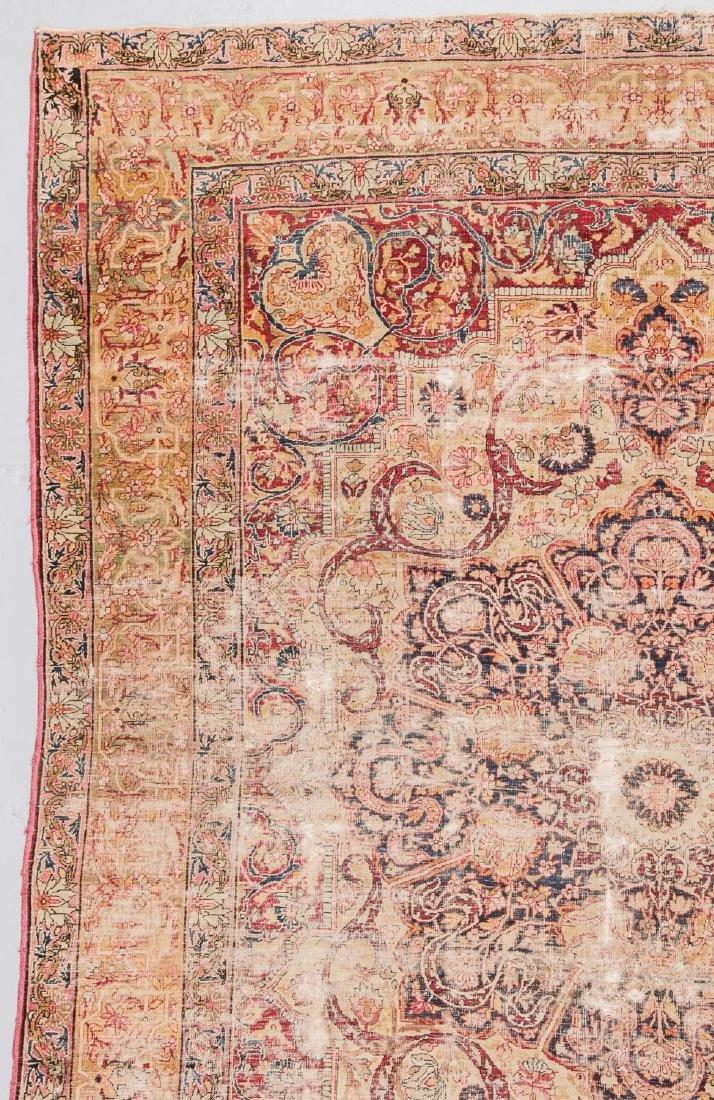 Antique Lavar Kerman Rug, Persia: 7'3'' x 9' - 5