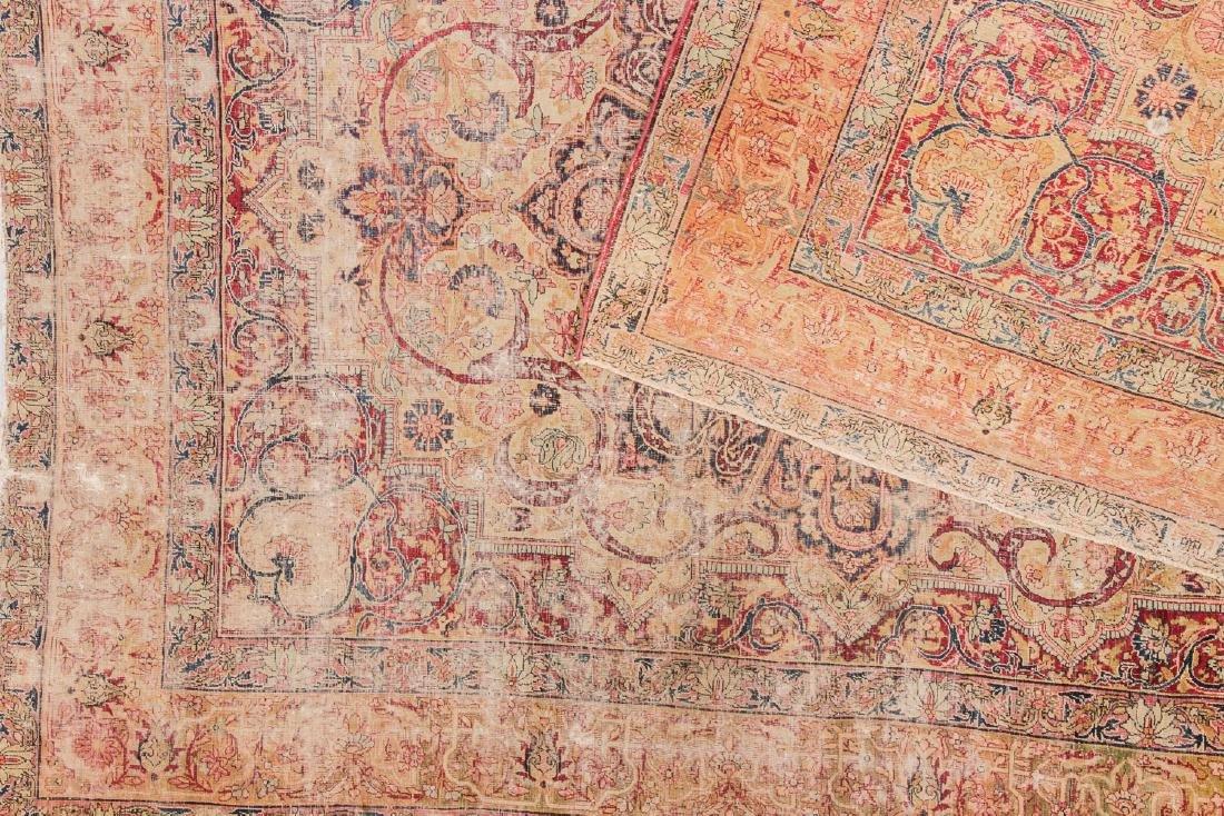 Antique Lavar Kerman Rug, Persia: 7'3'' x 9' - 6