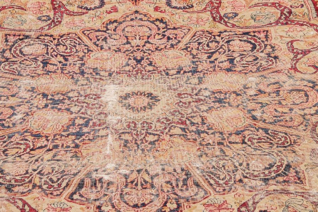 Antique Lavar Kerman Rug, Persia: 7'3'' x 9' - 8