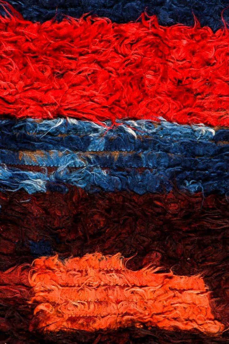 Antique Tulu Rug, Turkey: 3'9'' x 5'6'' (114 x 168 cm) - 2