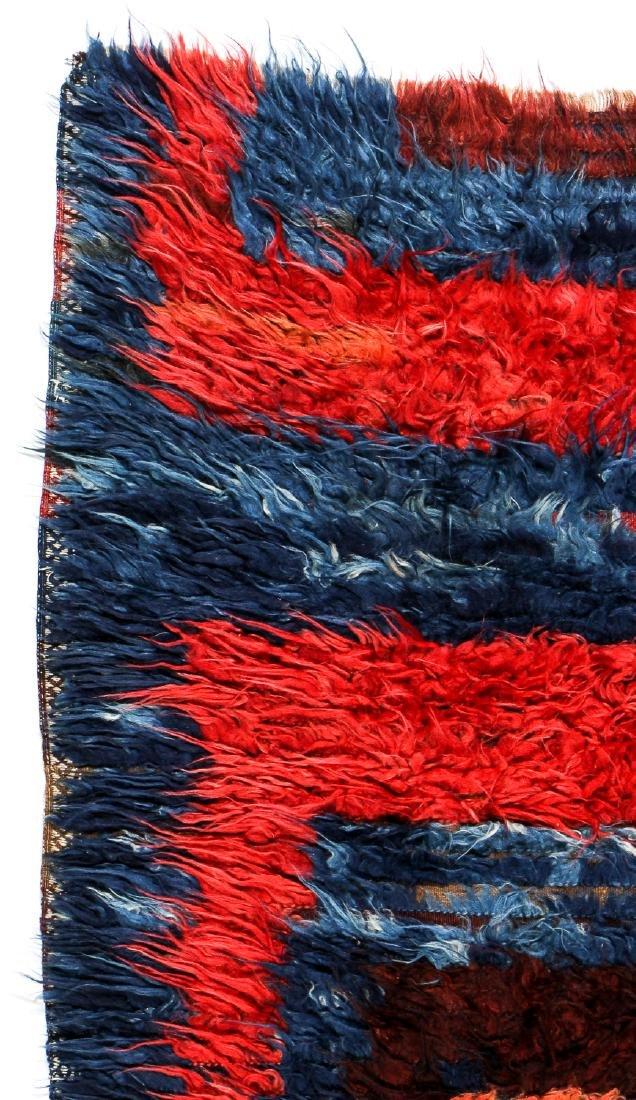 Antique Tulu Rug, Turkey: 3'9'' x 5'6'' (114 x 168 cm) - 3