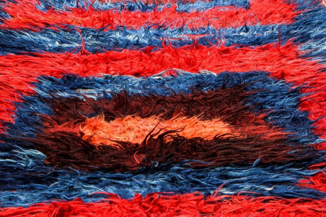 Antique Tulu Rug, Turkey: 3'9'' x 5'6'' (114 x 168 cm) - 6