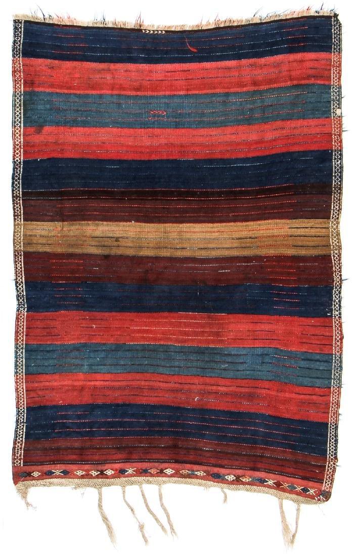 Antique Tulu Rug, Turkey: 3'9'' x 5'6'' (114 x 168 cm) - 7