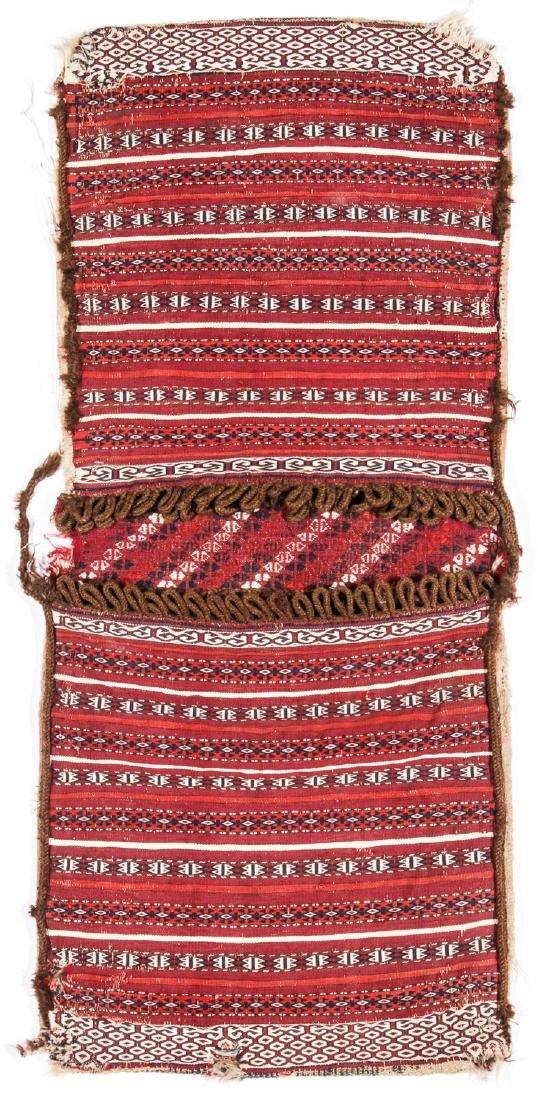 Antique Central Asian Turkmen Saddlebags