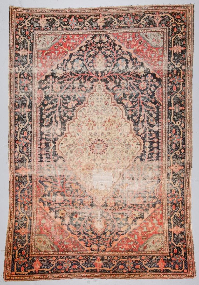Antique Ferahan Sarouk Rug, Persia: 6'10'' x 10'