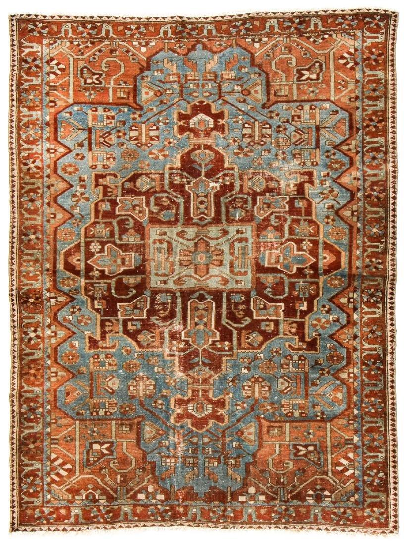 Antique Baktiari Rug, Persia: 4'11'' x 6'6''