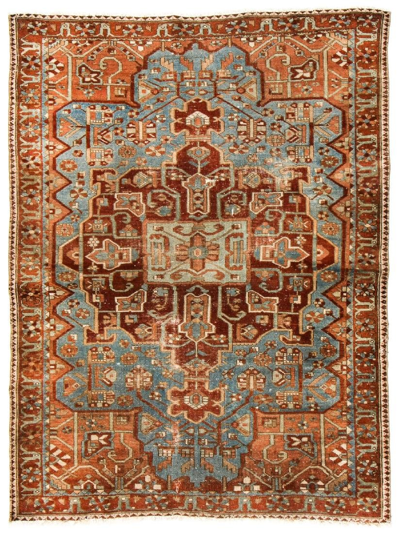 Antique Baktiari Rug, Persia: 4'11'' x 6'6''