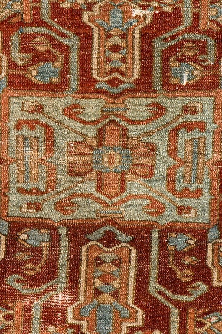 Antique Baktiari Rug, Persia: 4'11'' x 6'6'' - 2