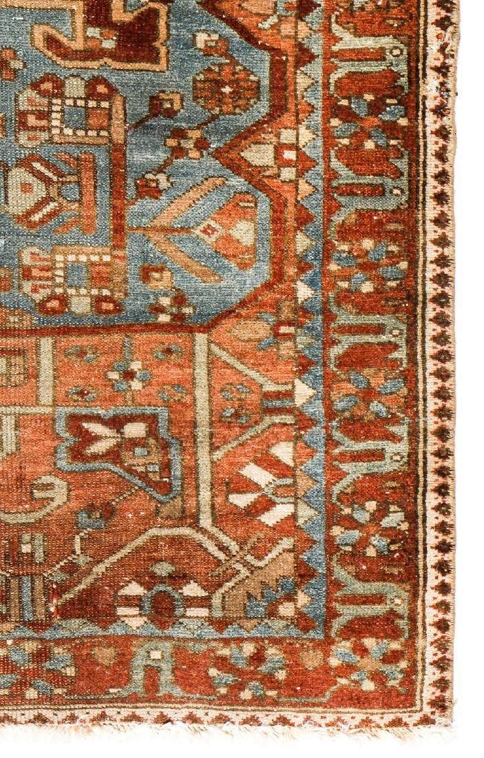 Antique Baktiari Rug, Persia: 4'11'' x 6'6'' - 3