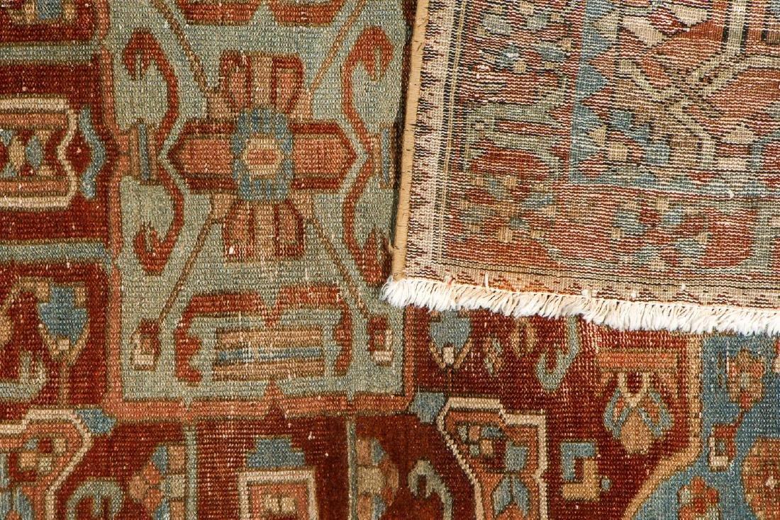 Antique Baktiari Rug, Persia: 4'11'' x 6'6'' - 4