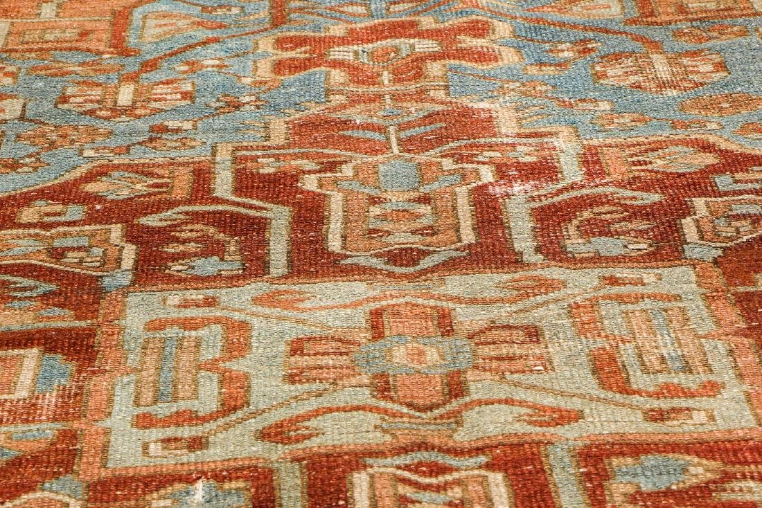 Antique Baktiari Rug, Persia: 4'11'' x 6'6'' - 6