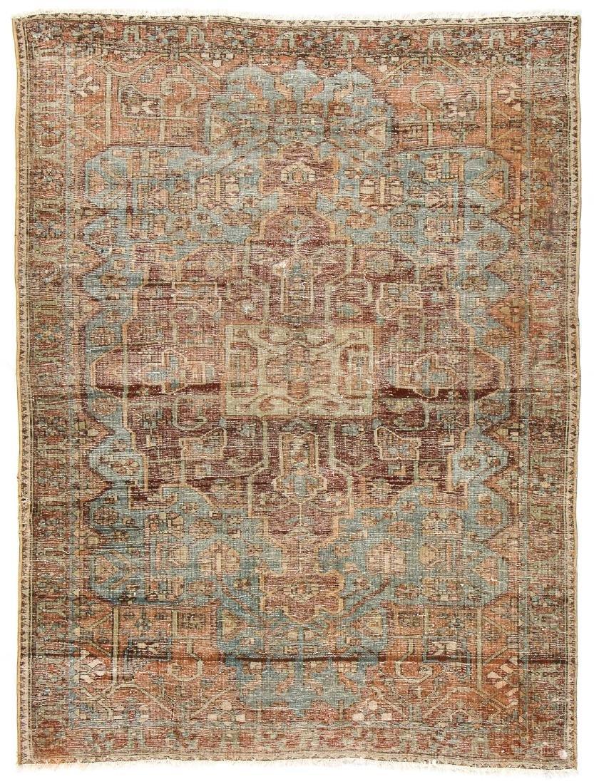 Antique Baktiari Rug, Persia: 4'11'' x 6'6'' - 7