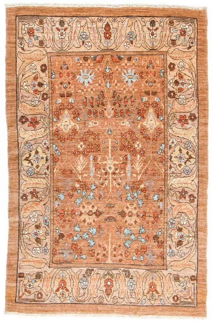Hamadan Rug, Persia: 4'8'' x 7'