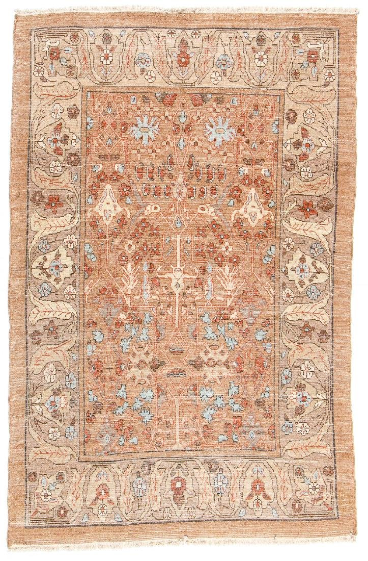 Hamadan Rug, Persia: 4'8'' x 7' - 7