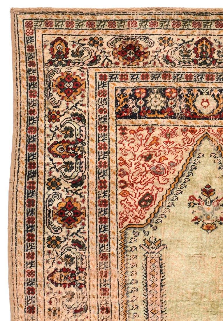 Antique Ottoman Era Turkish Prayer Rug - 2