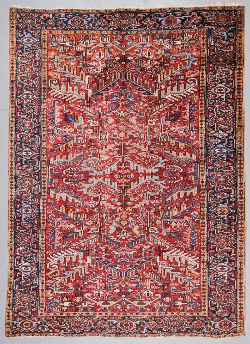 Antique Heriz Rug, Persia: 7'9'' x 10'8''