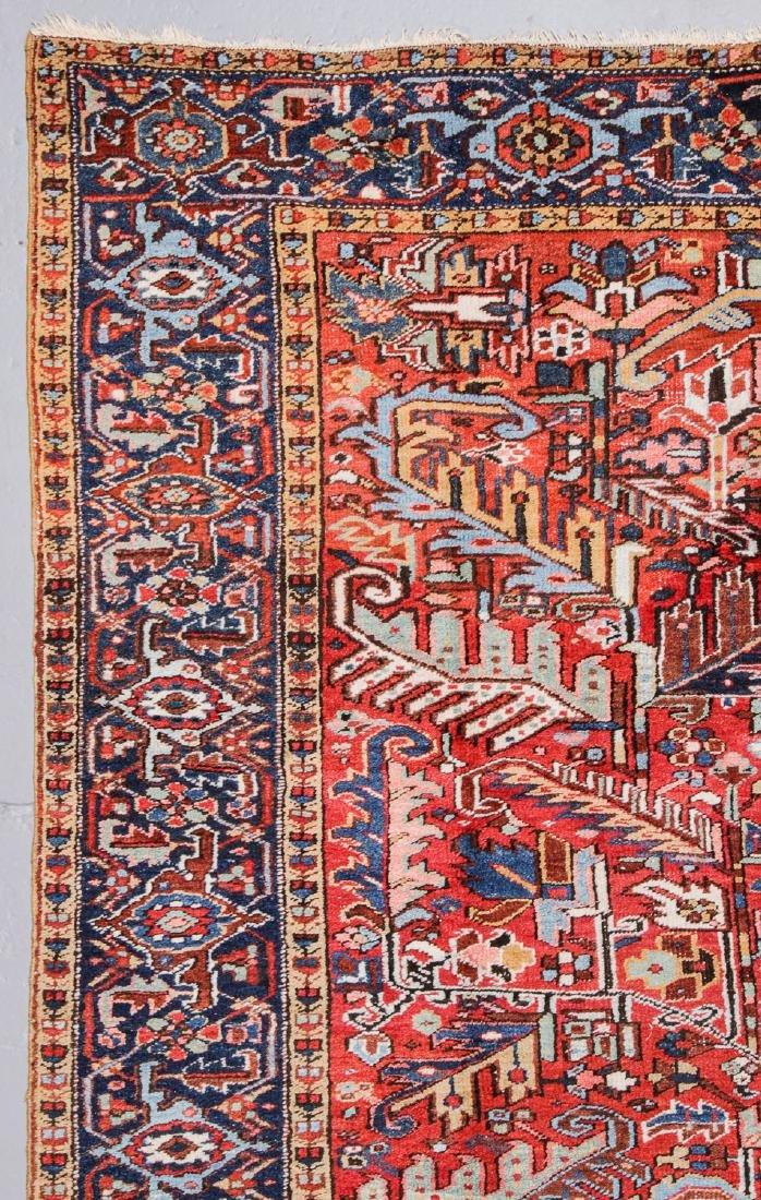 Antique Heriz Rug, Persia: 7'9'' x 10'8'' - 2