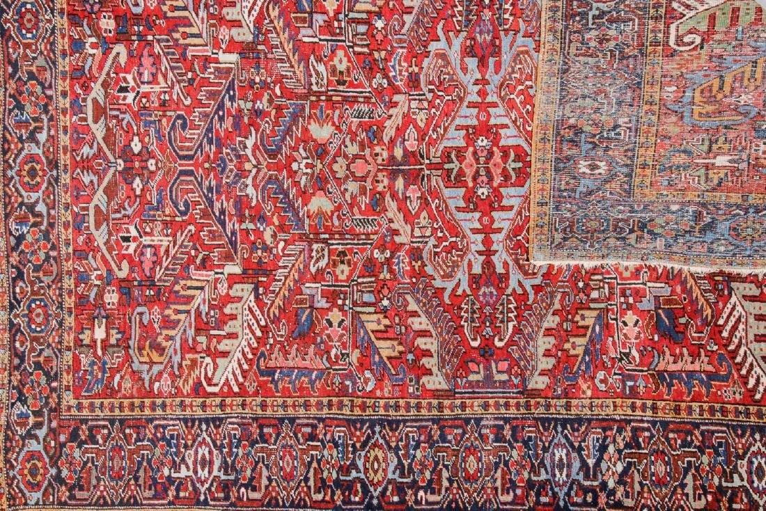 Antique Heriz Rug, Persia: 7'9'' x 10'8'' - 3