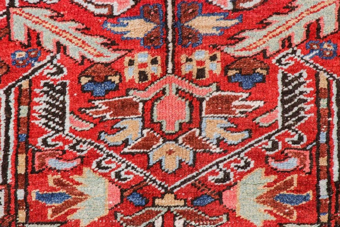 Antique Heriz Rug, Persia: 7'9'' x 10'8'' - 4