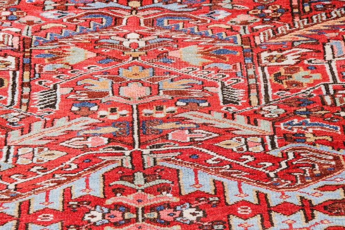 Antique Heriz Rug, Persia: 7'9'' x 10'8'' - 6