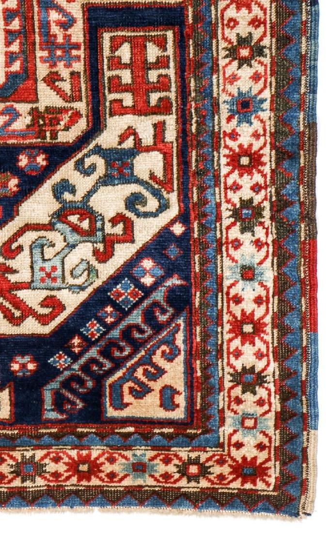 Kazak Rug, Caucasus: 3'11'' x 6'7' - 3