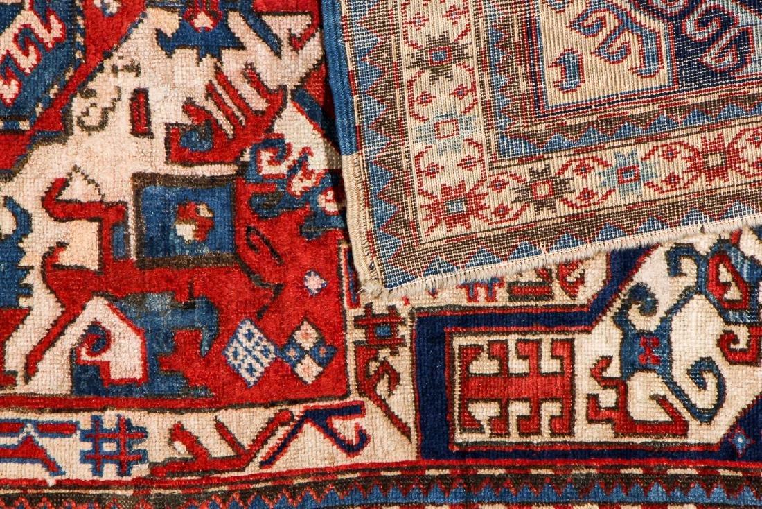 Kazak Rug, Caucasus: 3'11'' x 6'7' - 4