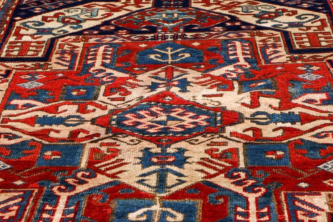 Kazak Rug, Caucasus: 3'11'' x 6'7' - 6