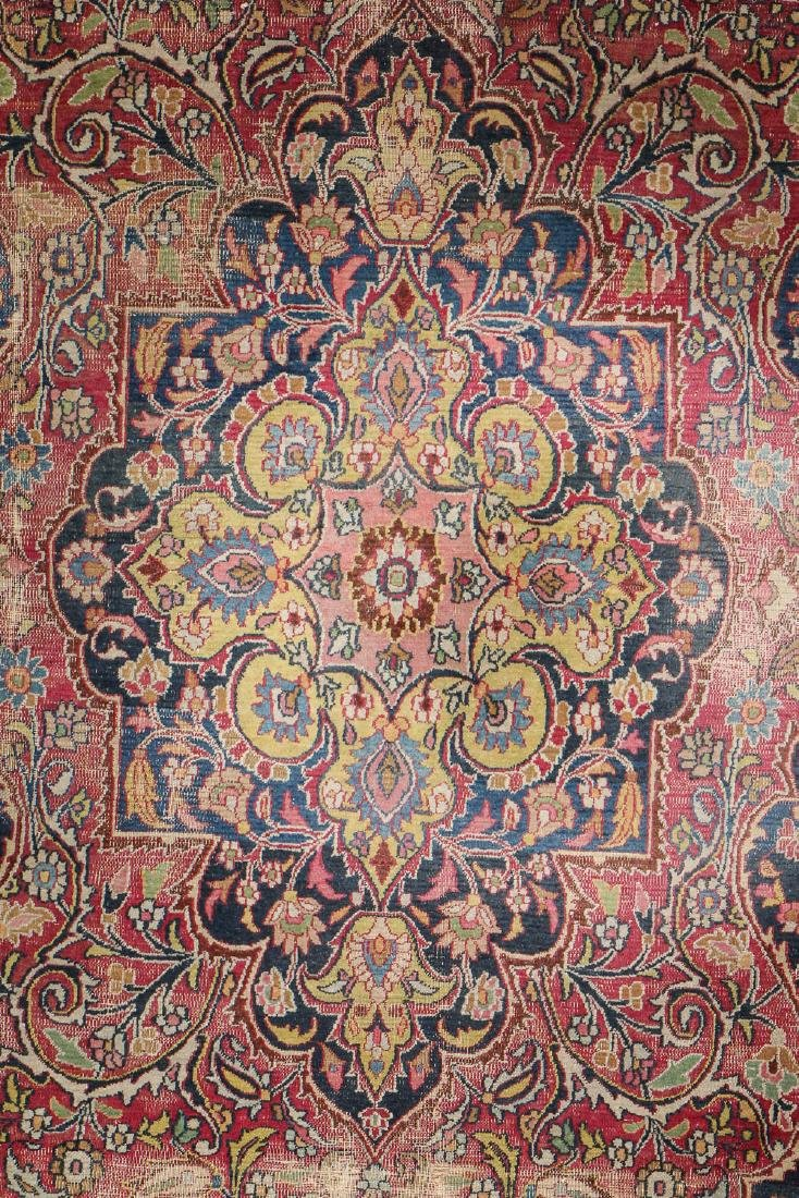 Antique Meshed Rug, Persia: 6'4'' x 10'9'' - 2