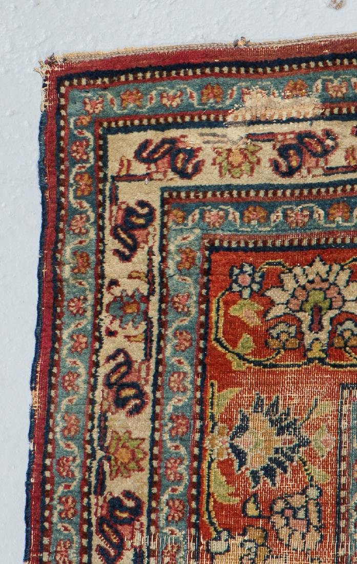 Antique Meshed Rug, Persia: 6'4'' x 10'9'' - 3