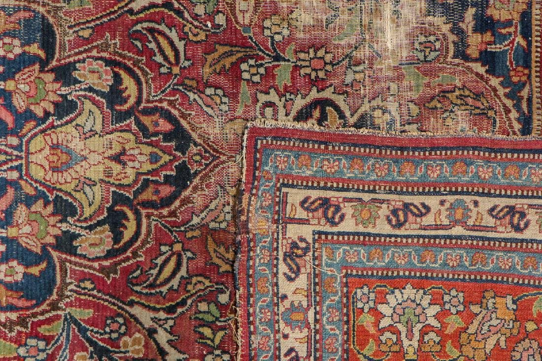 Antique Meshed Rug, Persia: 6'4'' x 10'9'' - 4