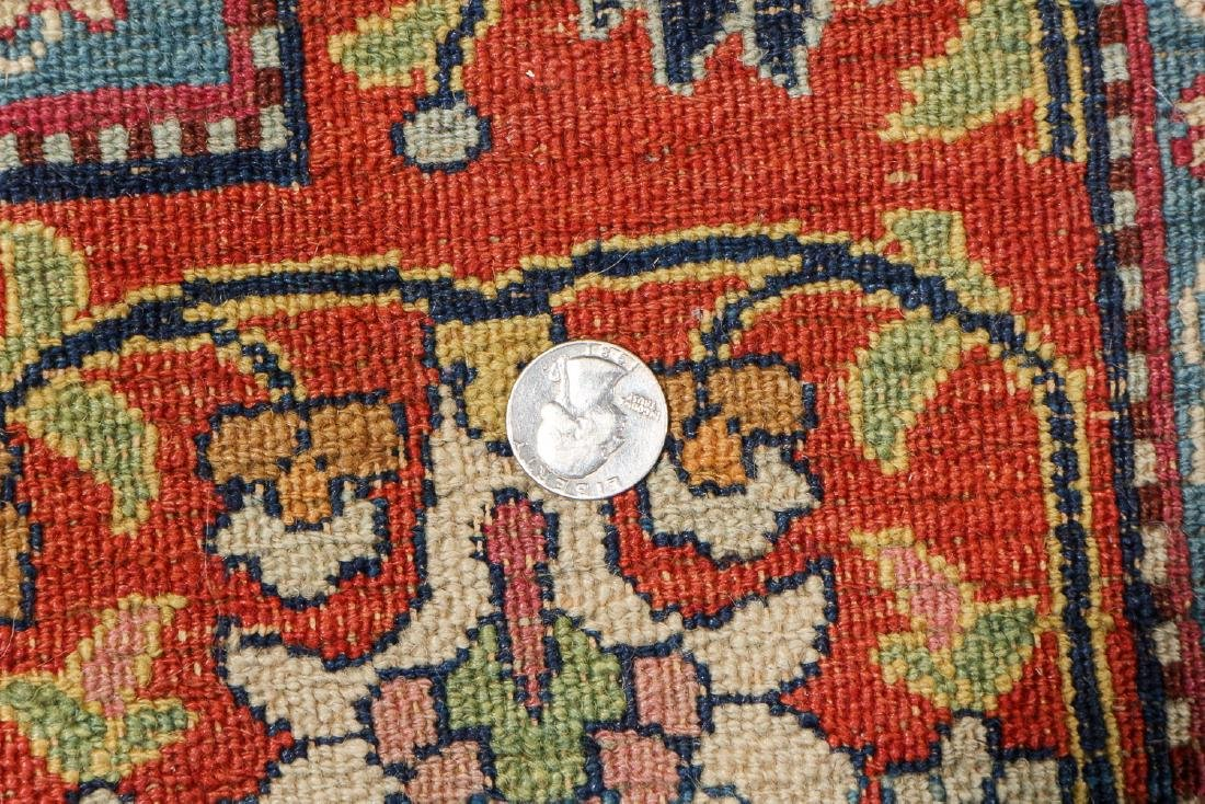 Antique Meshed Rug, Persia: 6'4'' x 10'9'' - 5