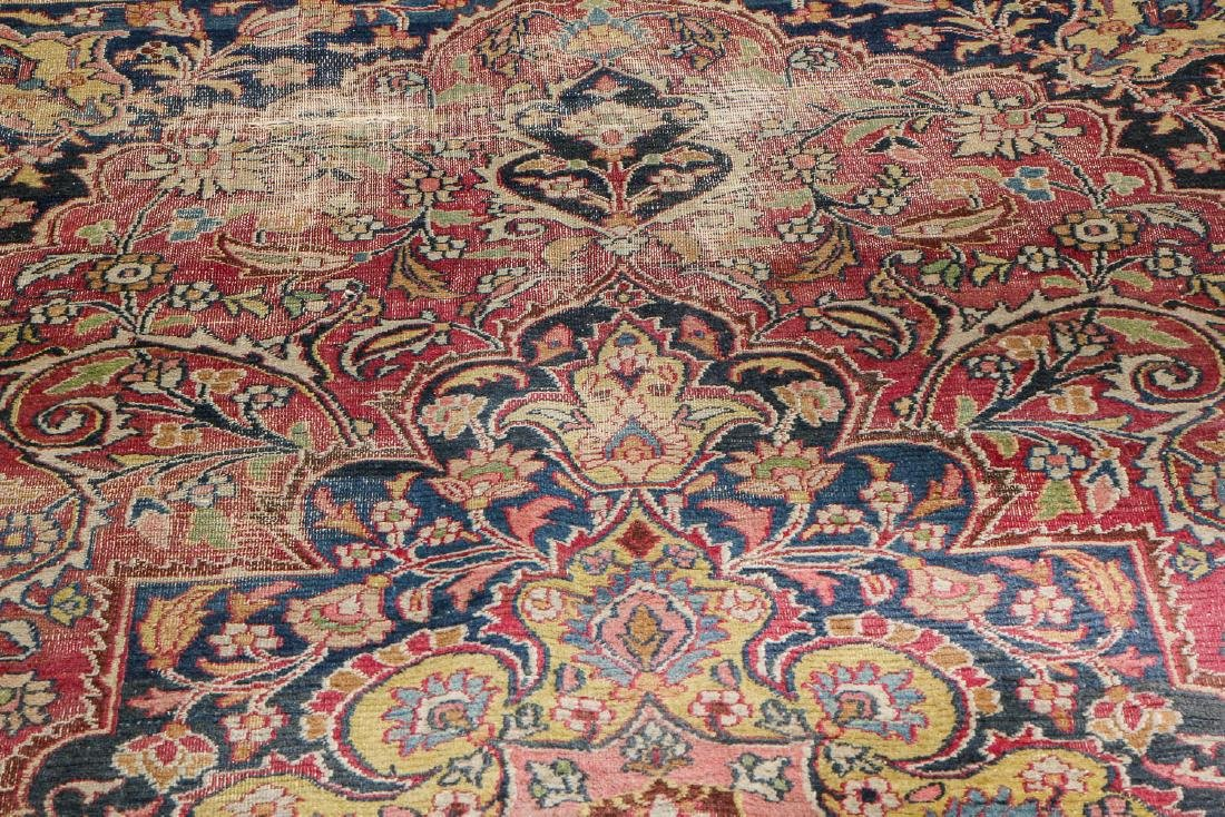 Antique Meshed Rug, Persia: 6'4'' x 10'9'' - 6