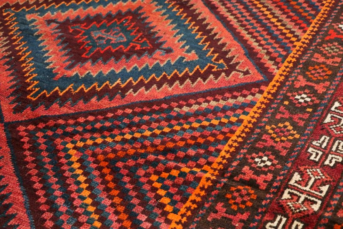 3 Semi-Antique Afghan Beluch Rugs, Early 20th C - 2