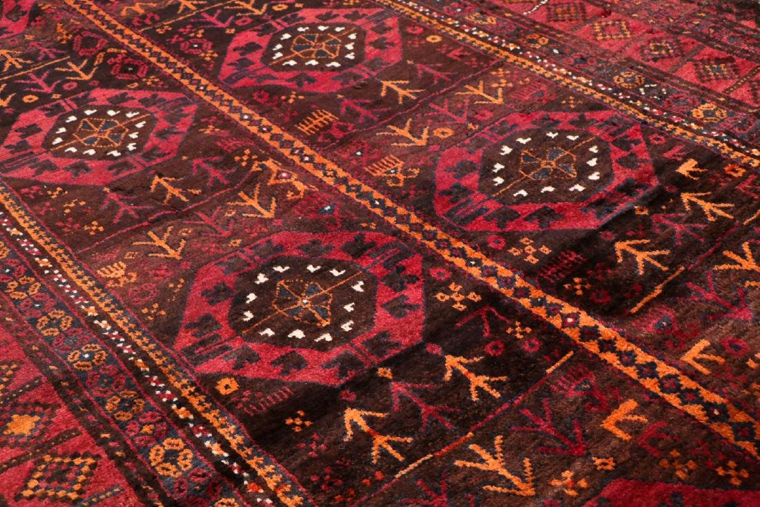 3 Semi-Antique Afghan Beluch Rugs, Early 20th C - 5