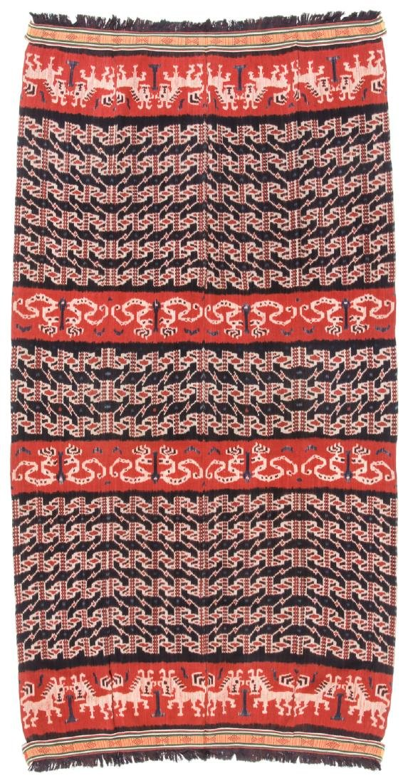 Man's Hinggi/Shoulder Cloth, East Sumba, Mid 20th C.