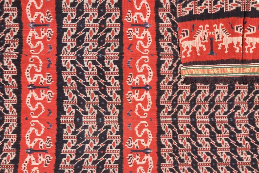 Man's Hinggi/Shoulder Cloth, East Sumba, Mid 20th C. - 3