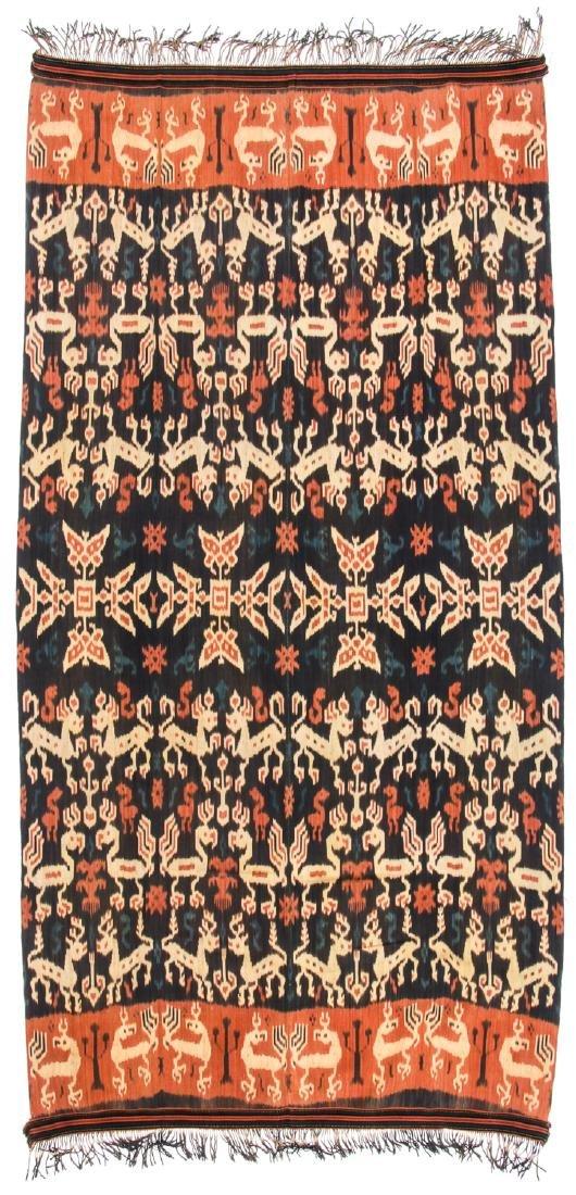 Man's Hinggi/Shoulder Cloth, East Sumba, Mid 20th C