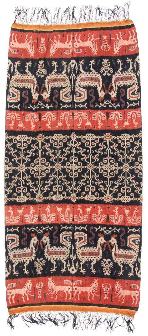 Man's Hinggi/Shoulder Cloth, East Sumba, Mid 20th C.