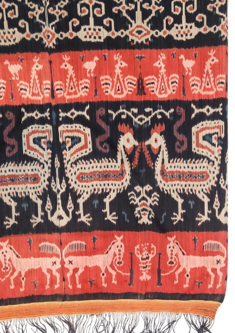 Man's Hinggi/Shoulder Cloth, East Sumba, Mid 20th C. - 2