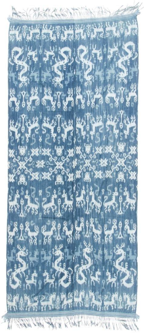 Man's Hinggi/Shoulder Cloth, East Sumba, Mid 20th C - 4